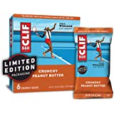 CLIF BAR - Energy Bars - Crunchy Peanut Butter - (2.4 Ounce Protein Bars, 6 Count) (Packaging May Vary)