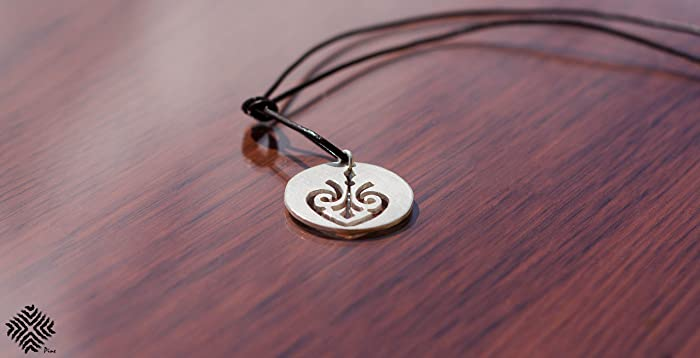 Amazon Silver Handmade Good Karma Symbol Necklace Buddhism