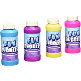 Rhode Island Novelty Bubble Bottles Assortment (12-Pack) - 4oz