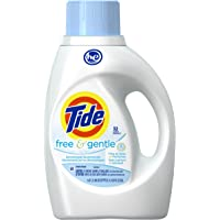 Tide Free and Gentle High Efficiency Liquid Laundry Detergent,50 oz