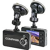 "The Original Dash Cam 2.4"" Screen Full HD 1080P Wide Angle Dashboard Camera, Car DVR Vehicle Dash Cam with G-Sensor, Loop Recording, Grey"