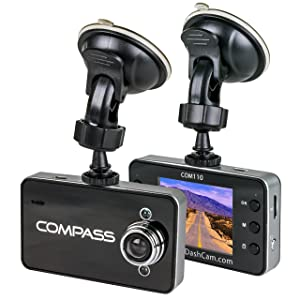 "The Original Dash Cam 2.4"" Screen Full HD 1080P Wide Angle Dashboard Camera, Car DVR Vehicle Dash Cam with G-Sensor, Loop Recording, Grey"