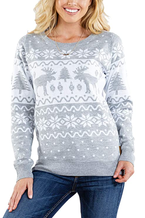 Women's Merry Moose Sweater