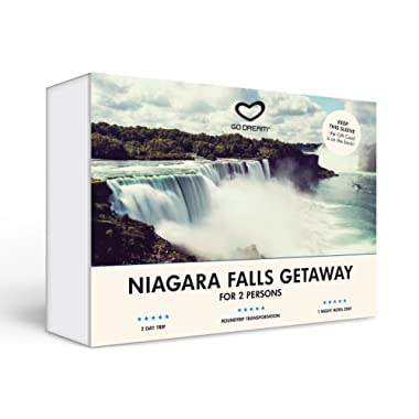 Trip to Niagara Falls Experience Gift Card NYC - GO DREAM - Sent in a Gift Package