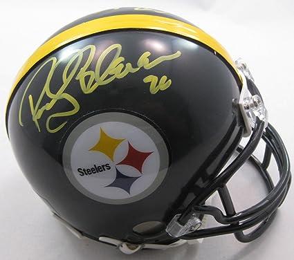 73f1b0ecfb7 Rocky Bleier Pittsburgh Steelers Signed, Autographed, Riddell Mini Helmet  Helmet, a COA with