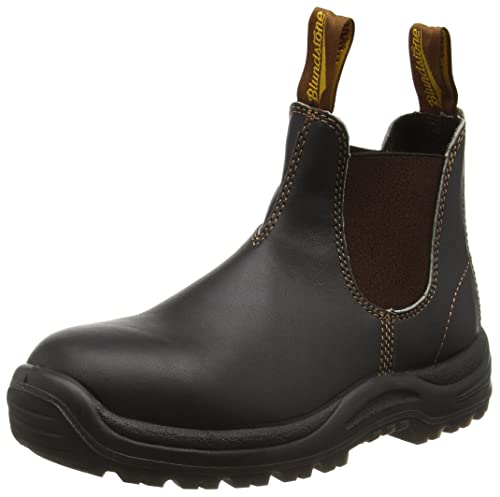 Blundstone Steel Toe Cap, Unisex Adults SRC Safety Boots, Brown (Brown),