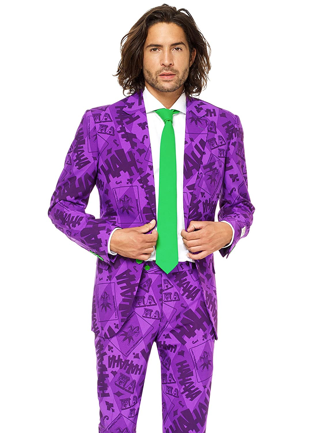 Opposuits Licensed Halloween Costumes for Men – Full Suit: Jacket, Pants and Tie