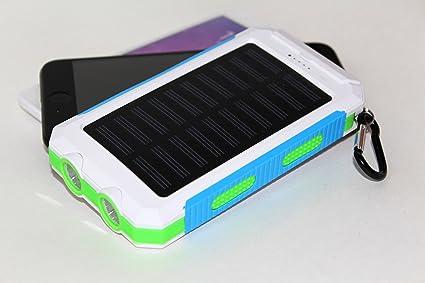 Amazon.com: Cargador solar, coversuit 30000 mAh Dual USB ...