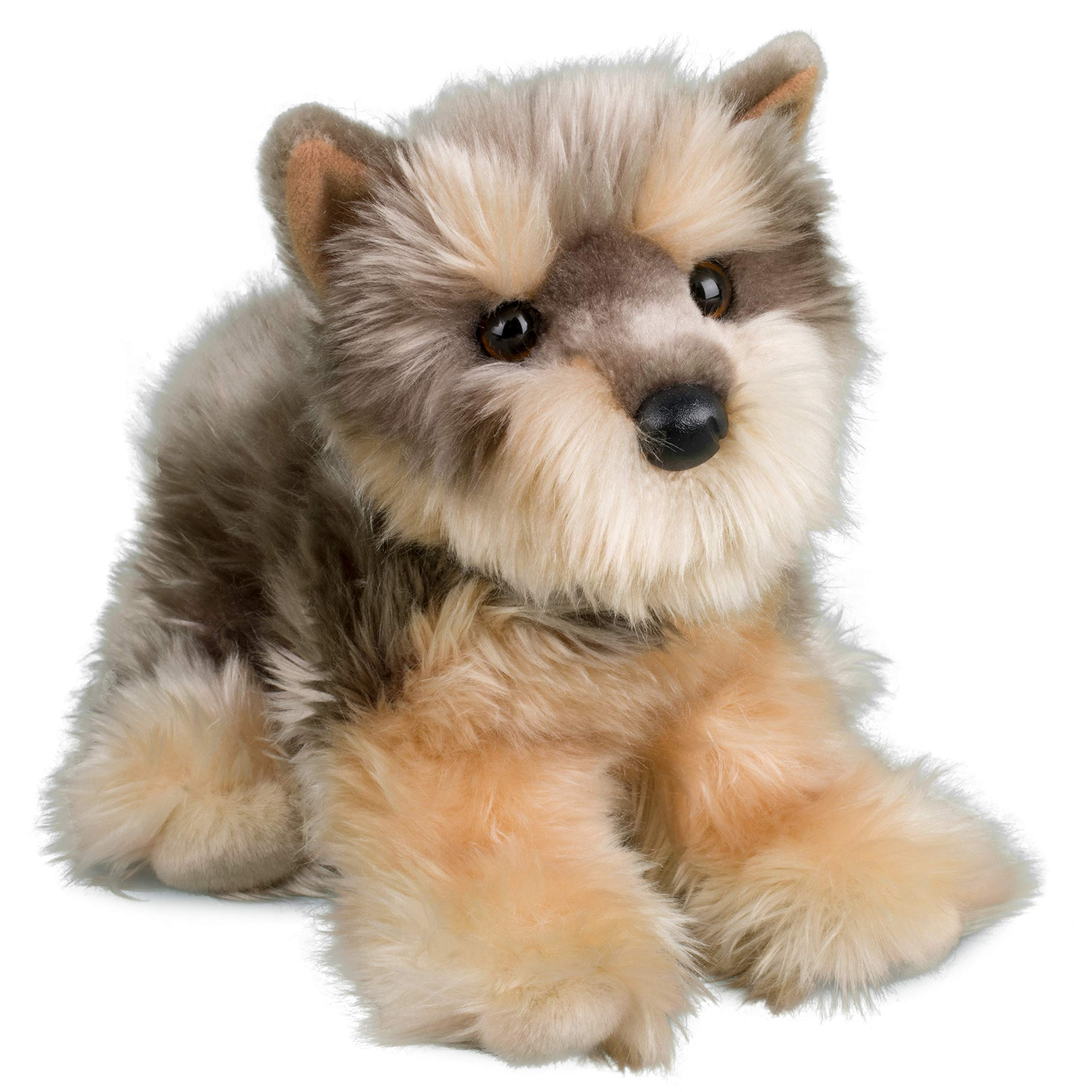 "Douglas Brenton Yorkie Yorkshire Terrier Plush Toy Dog Stuffed Animal 15"" Puppy"