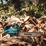 """Makita XCU08Z Lithium-Ion Brushless Cordless 18V X2 (36V) LXT 14"""" Top Handle Chain Saw, Tool Only, Teal"""