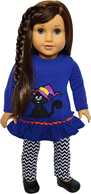 Brittanys My Thanksgiving Day Turkey Outfit Compatible with American Girl Dolls