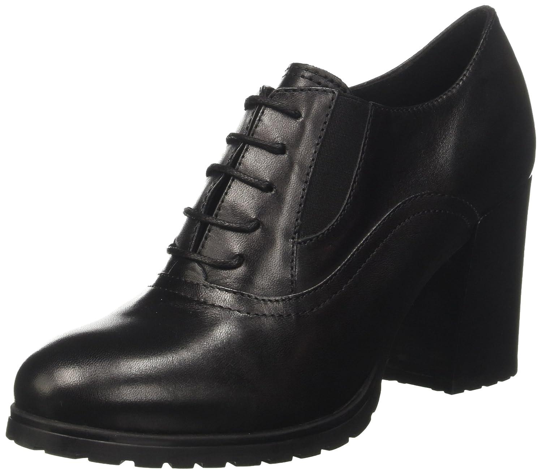 Geox D New Lise High E, Zapatos de Tacón para Mujer39 EU|Negro (Black)