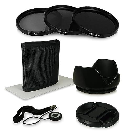 3 opinioni per 55mm Kit di accessori per Canon EOS 1100D | 550D | 600D- Sony Alpha 100 | 200 |