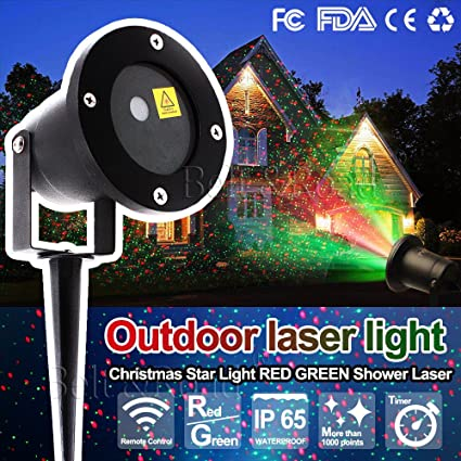 beltroad christmas festival decoration star fairy lights laser projector light christmas outdoor landscape led - Christmas Outdoor Projector