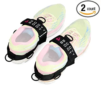 f1932aaf7fc3ae BOOTY BOOT Multifunctional Glute Kickback and Leg Exercise Attachment Ankle  Straps (Pair – 2 Count) Strengthen Tone and Build Butt Quads Hamstrings ...