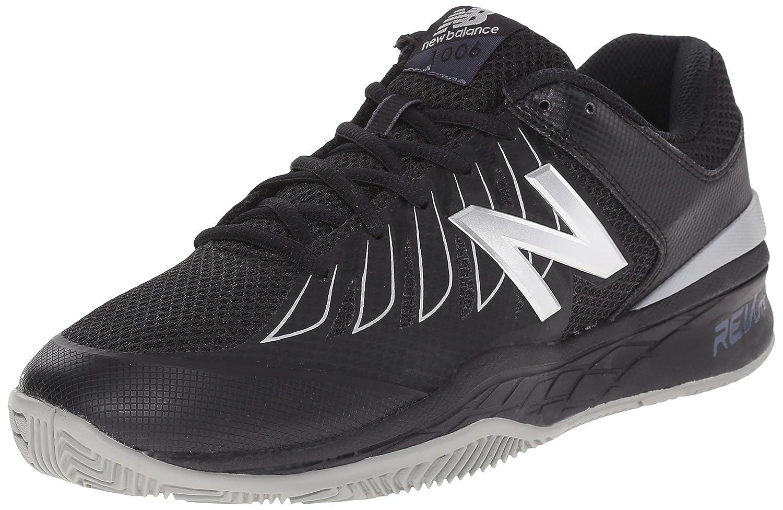 New Balance Men's MC1006v1 Tennis Shoe B00Z9P678U 12 D(M) US|Black/Silver