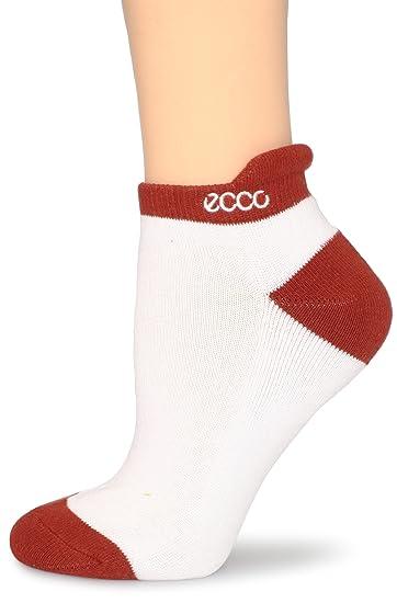 742281e7e7 ECCO Women's Golf Notch Socks, Terracotta, 9-11 at Amazon Women's ...