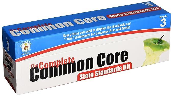 Carson Dellosa The Complete Common Core State Standards Kit Pocket Chart Cards 158171