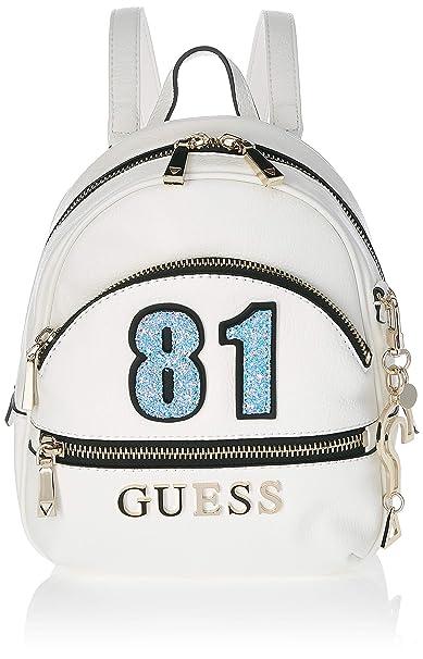 4c094a522 Guess - Manhattan, Mochilas Mujer, Blanco (White/Whi), 21x27.5x10 cm ...