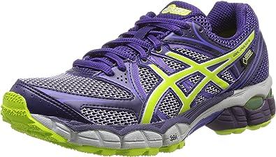 ASICS Gel-Pulse 6 - Zapatillas de Running para Mujer, Mujer, Violeta (Morado Profundo/Lima/púrpura 3605), 44,5: Amazon.es: Deportes y aire libre
