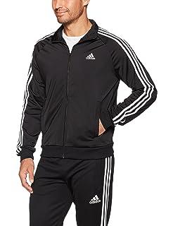 Black pink adidas jacket