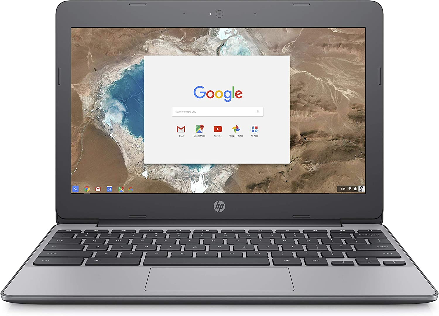 Amazon Com Hp Chromebook 11 Inch Laptop Intel Celeron N3060 Processor 2 Gb Sdram 16 Gb Emmc Storage Chrome Os 11 V000nr Ash Gray Computers Accessories