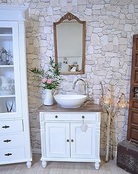 País & Amor de Muebles de baño GmbH Barring Ton: rústico de Lavabo