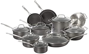 Cuisinart Chef's Classic Nonstick 17 Piece Set