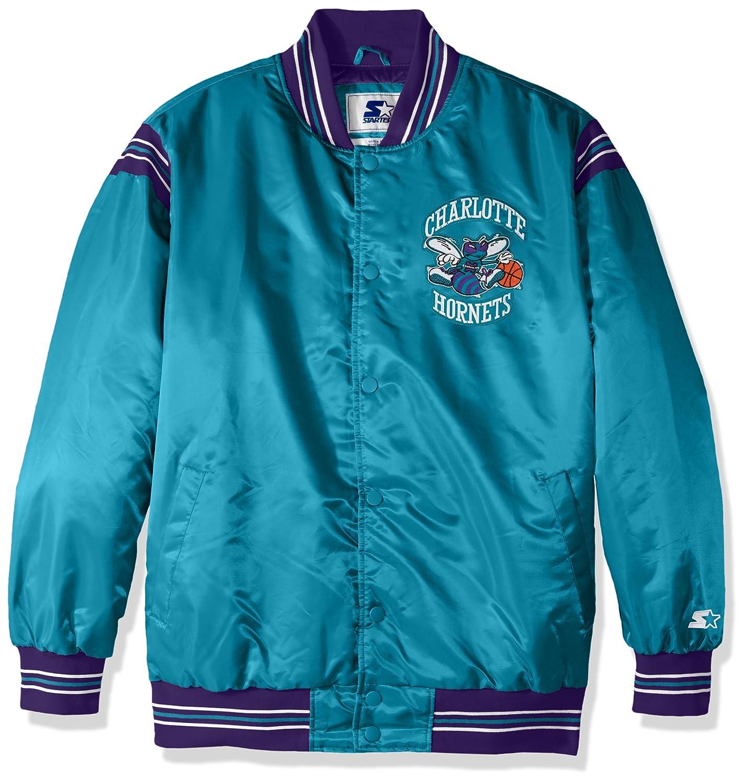 STARTER Adult Men The Enforcer Retro Satin Jacket NBA