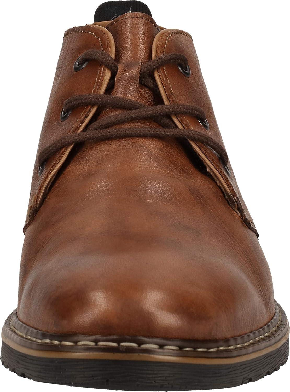 Rieker Herbst/Winter, Stivali Desert Boots Uomo Marrone Mahagoni Braun Kastanie 25