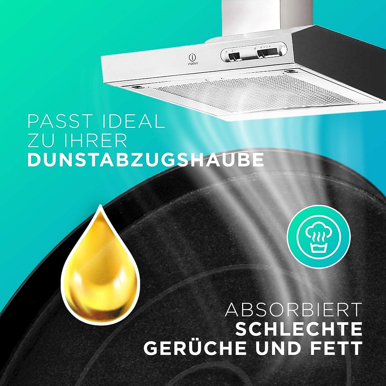 Filtro de carbón de repuesto para campana extractora Bosch 00353121 de Balay, Siemens, Constructa, Neff, juego de filtros de carbón activo (2 unidades): Amazon.es: Hogar