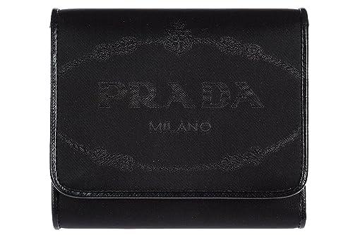 Prada monedero cartera de mujer en piel nuevo negro
