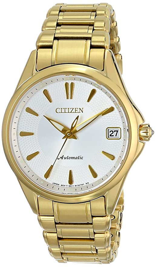 e421a4e6d2c Citizen Women s PA0002-59A Grand Classic Analog Display Automatic Self Wind  Gold Watch
