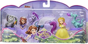 Disney Sofia The First Royal Friends Enchancia Core Figure Set