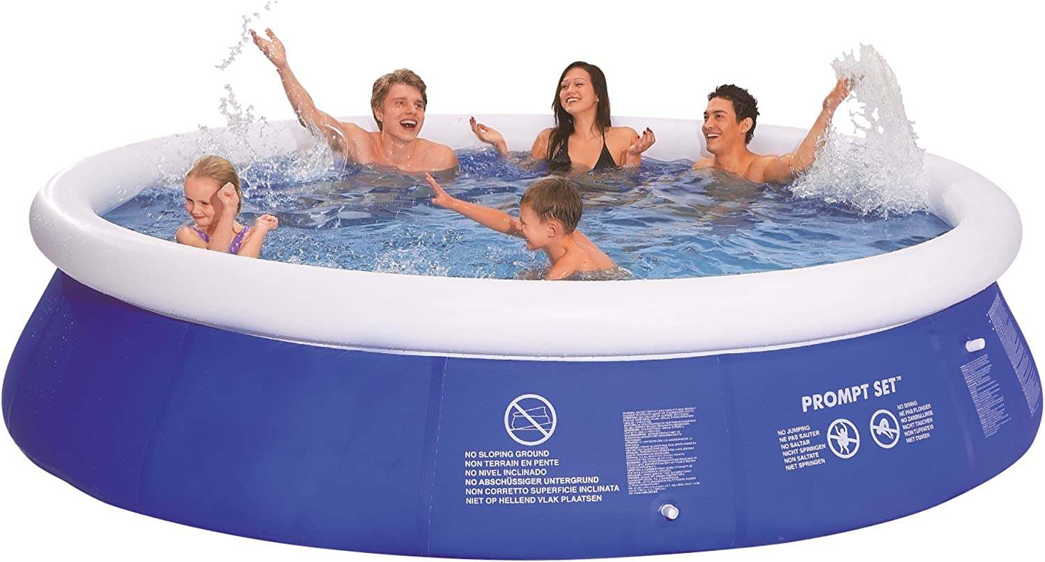 Jilong Prompt Set Pool Marin Blue 360 - Piscina Quick-up 360 x 76 cm: Amazon.es: Jardín