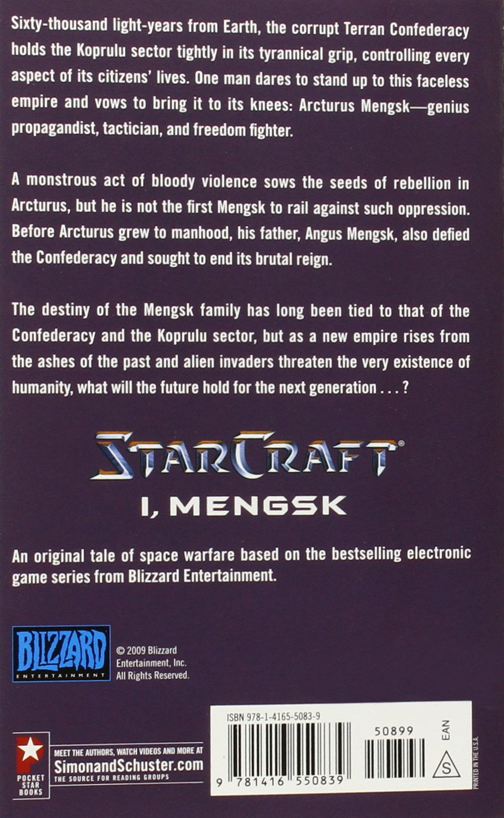 I, Mengsk (starcraft): Graham Mcneill: 9781416550839: Amazon: Books