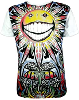 Mirror – Camiseta para hombre – 7 Chakras de arte – Talla M L XL psicodélico Hippie Goa Trance Budismo: Amazon.es: Ropa y accesorios