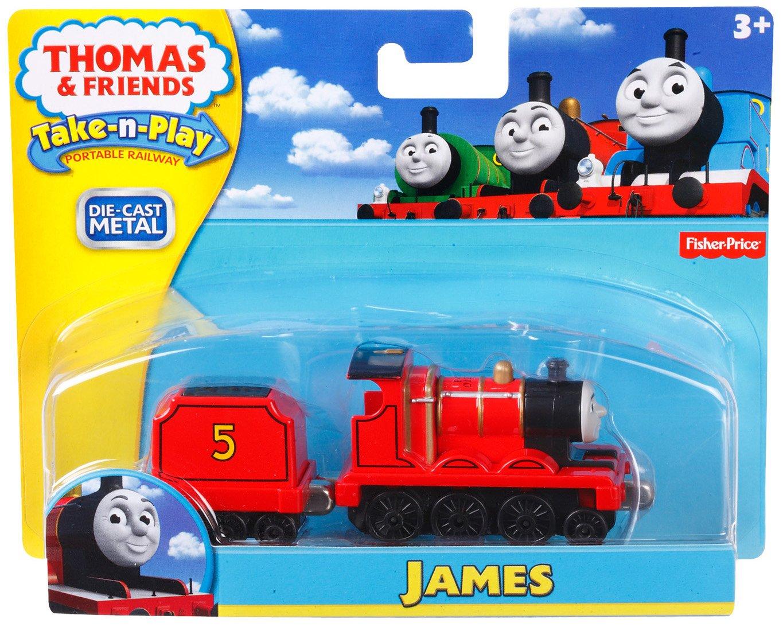 Fisher Price Thomas Take N Play James Amazoncouk Toys Games