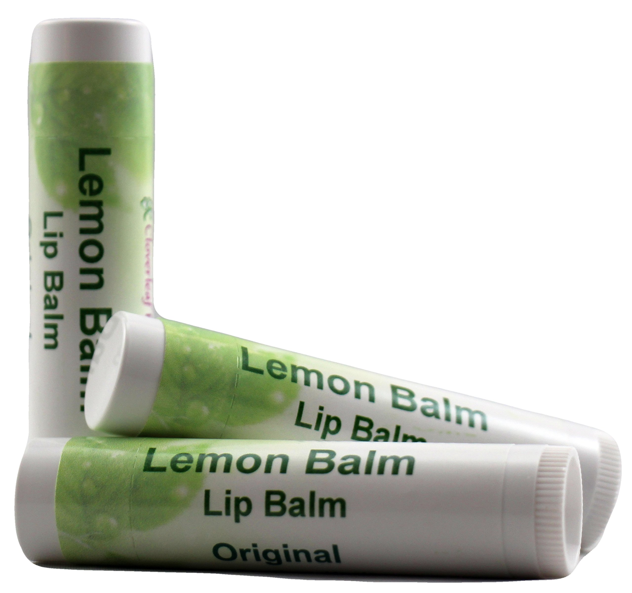 Cloverleaf Farm - Lemon Balm Lip Balm - 3 pack