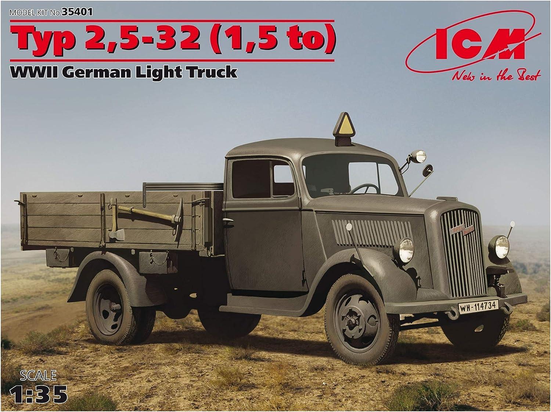 ICM Models Type 2.5-32 WWII German Ambulance Truck