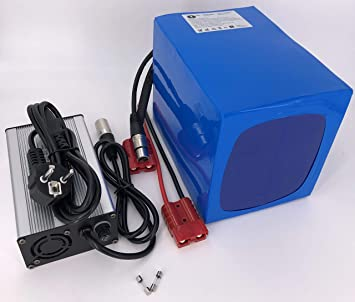 Batería de 36 V, 40 Ah, 1440 WH. Batería de Iones de Litio para ...