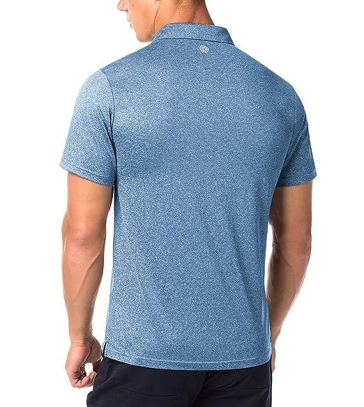LAPASA Polo Deportivo Hombre Camiseta Deportiva de Golf Tenis de ...