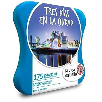 La vida es bella - Caja Regalo - Tres DÍAS EN LA Ciudad - 175 hoteles urbanos de hasta 4*: Amazon.es: Deportes y aire libre
