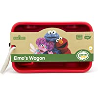 Green Toys Elmo's Wagon, red, 1 ea
