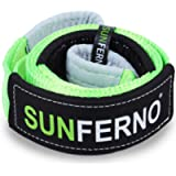 Sunferno Tree Saver Winch Strap 35,000 lbs Certified | Confidently Hook the Strap with your Winch | 3 inch x 8 Foot…