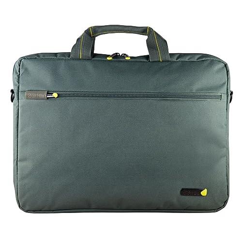 Techair TANZ0118v3 Shoulder Bag for 17.3-Inch Laptop - Grey