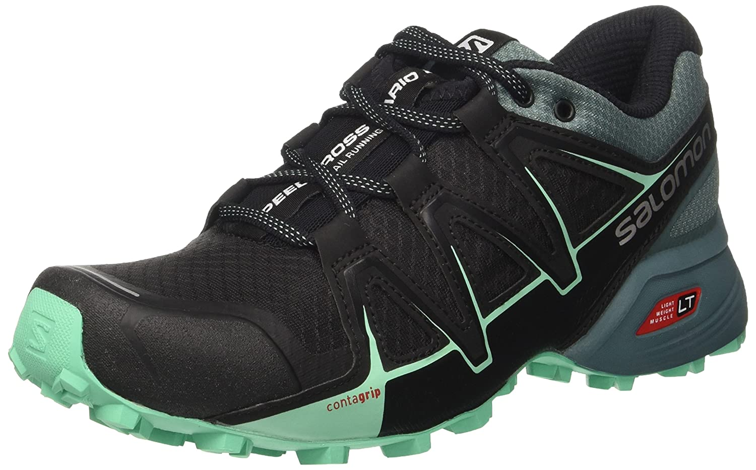 Salomon Women's Speedcross Vario 2 W Backpacking Boot B01MSPTCMG 8 B(M) US|Black