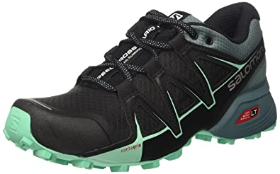 Salomon Damen Speedcross Vario 2 Trailrunning-Schuhe, Blau/Hellblau (Hawaiian Surf/Aquarius/Mykonos Blue), Gr. 42