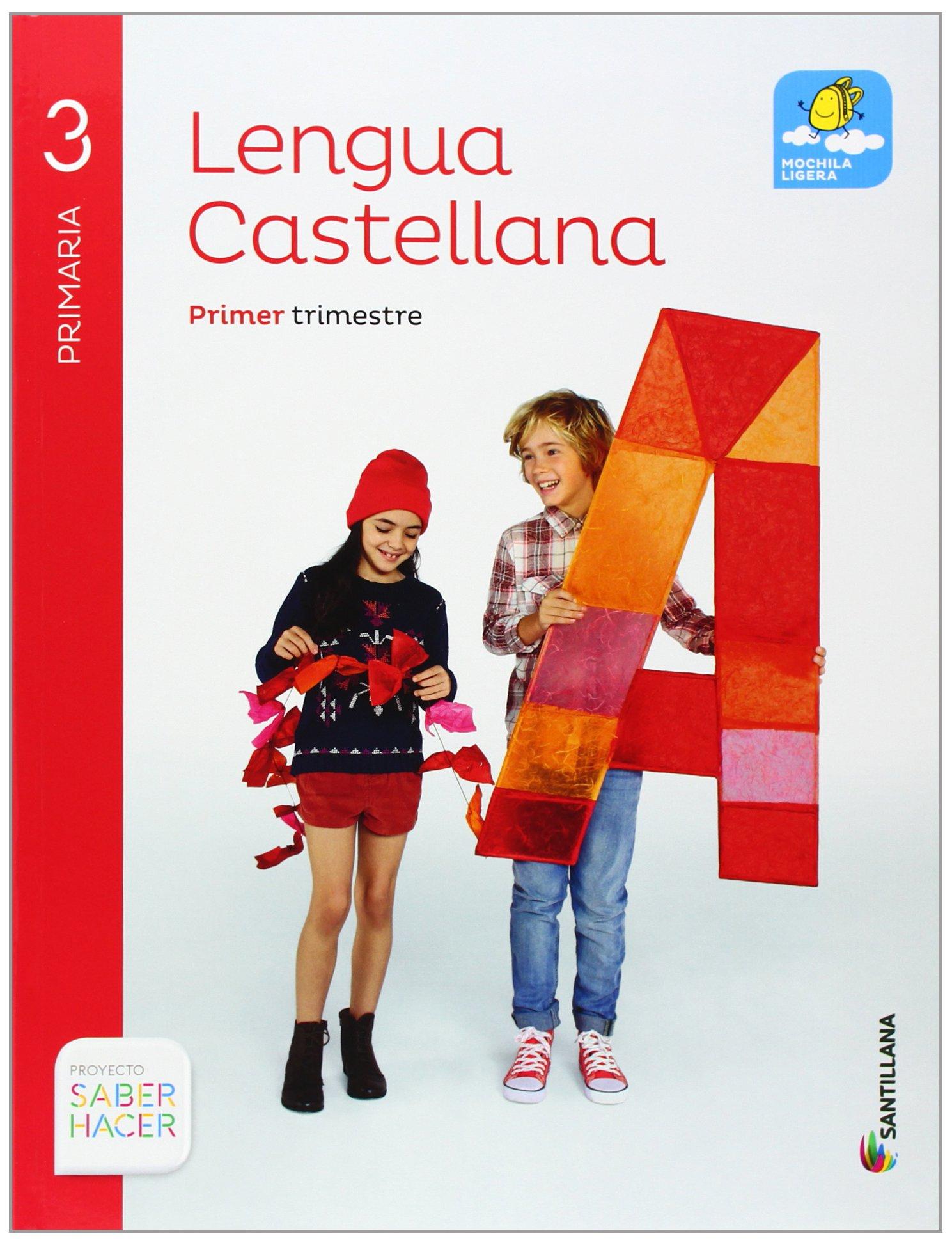 Lengua Castellana 3 Primaria, Saber Hacer, pack de 4 libros - 9788468011967: Amazon.es: Aa.Vv.: Libros