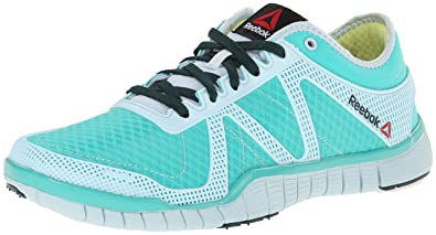 Reebok Women's Zquick Lux TR Training Shoe,Timeless TealPragmatic TealReflection Blue